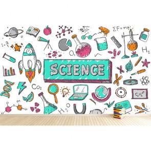 Bilim Çağı - Okul ve Kreş Duvar Kağıdı Uygulama