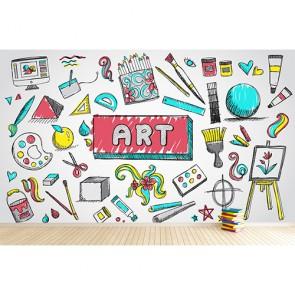 Resim ve Sanat - 3D Duvar Kağıdı Uygulama