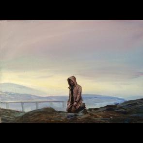 Sanatsal Dokunuşlar | Yunus Gündüz'in Boşluktaki Kaygı isimli Akrilik çalışması