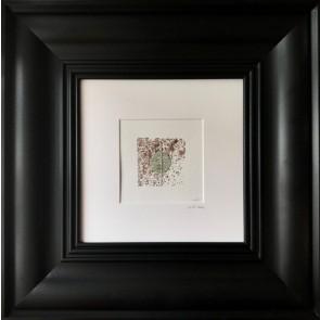 Sanatsal Dokunuşlar | Ezgi Ünal'in '21'' Serisi - No III, Pollock isimli Karışık Teknik çalışması Duvargiydir.com'da