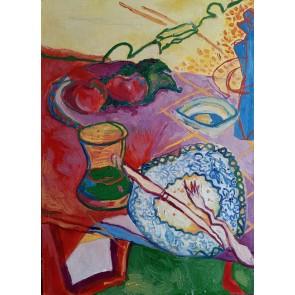 Sanatsal Dokunuşlar | Asya Hasgül'in Akşam isimli Yağlı Boya çalışması Duvargiydir.com'da