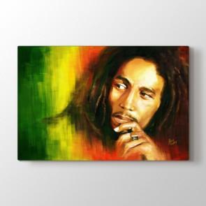 Bob Marley - Modern Kanvas Tablo Modeli