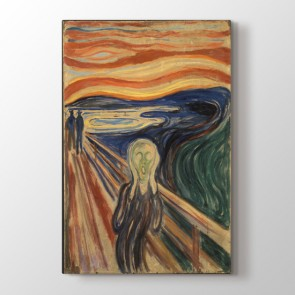 The Scream - Yağlı Boya Kanvas Tablosu