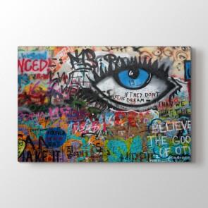 Gözüm Üstünde - Modern Duvar Dekoru Kanvas Tablo