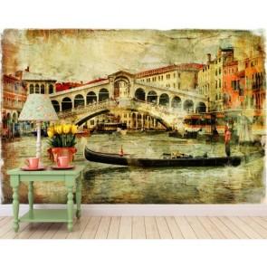 Venedik Rialto Köprüsü Duvar Kağıdı Önizleme
