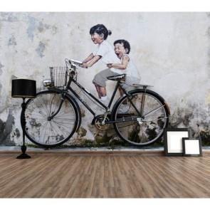 Hayat Güzeldir - Resimli Dekoratif Duvar Kağıdı