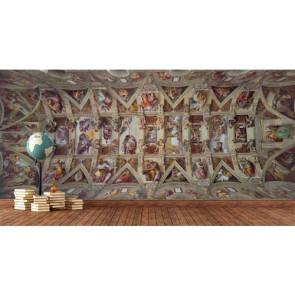 Sistine Chapel - 3 Boyutlu Duvar Kağıdı