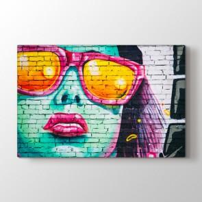 Tarzın Adı Graffiti Tablosu | Salon Için Duvar Tabloları