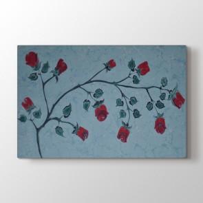 Güller Ebru Sanatı Tablosu | Ev Dekorasyon Tablo