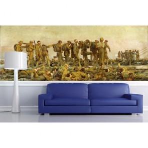 Esir Askerler Sanatsal Duvar Kağıdı Modeli