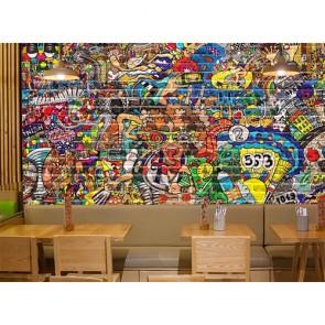 Graffiti Duvar - 3D Duvar Kağıdı Uygulama