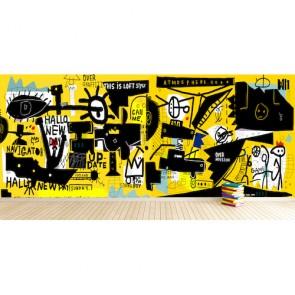 Her Kafadan Graffiti Duvar - 3D Duvar Kağıdı Uygulama