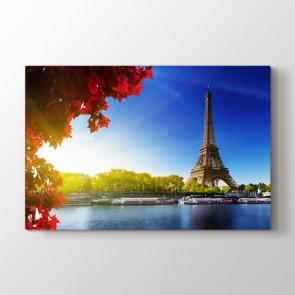 Eiffele Bakış - Şehir Duvar Tablosu Modeli