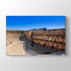 Aspendos - Şehir Kanvas Tablo Modeli