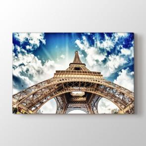 Gökyüzünde Eiffel - Şehir Duvar Tablosu