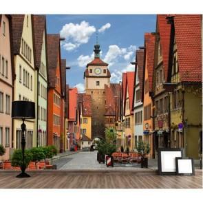 Rothenburg Sokakları Duvar Kağıdı