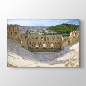 Herodes Atticus Tiyatrosu Atina - Şehir Duvar Tablosu Modeli