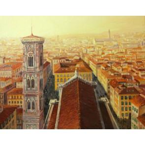 Çatı Katı Floransa Manzarası