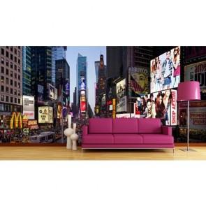 Times Square Kalabalığı Duvar Kağıdı Önizleme