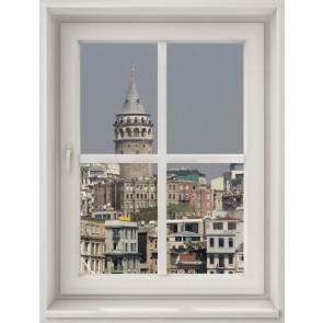 Evimden Galata Kulesi