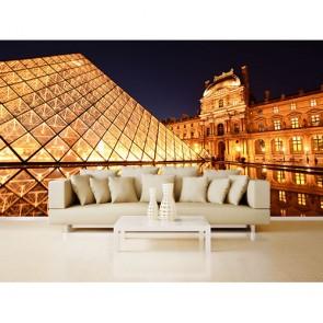 Louvre Piramiti - Üç Boyutlu Duvar Kağıtları