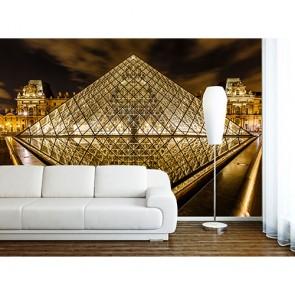 Paris Louvre Piramidi - Poster Duvar Kağıtları