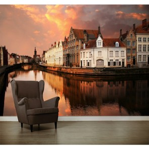 In Bruges - Duvar Dekorasyonu