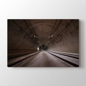 Derin Tünel Tablosu | Duvar Tabloları