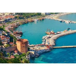 Alanya Marina ve Kızıl Kule