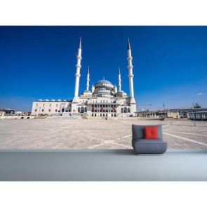Ankara Kocatepe Cami Manzara 3 Boyutlu Duvar Kağıdı