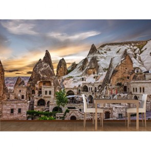 Kapadokya Açık Hava Müzesi 3 Boyutlu Duvar Kağıdı