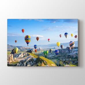 Kapadokya Balonları Tablosu | Türkiye Manzaraları Tablo