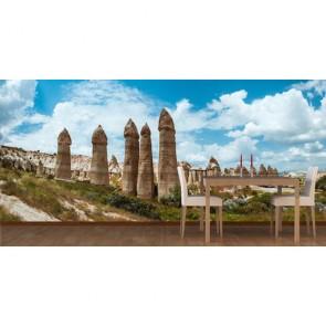 Kapadokya Göreme 3D Duvar Kağıdı