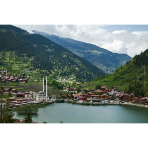 Trabzon Uzungöl 3 Boyutlu Duvar Kağıdı