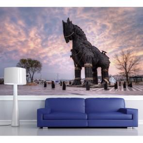 Truva Atı Çanakkale Manzara Resimli Duvar Kağıdı