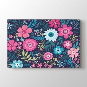 Yapma Çiçekler Tablosu | Çiçek Desenli Tablolar