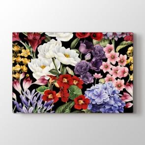 Çiçeklerin Büyüsü Tablosu | Çiçek Tabloları