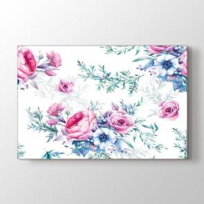 Gül Kokusu Tablosu   Modern Çiçek Tabloları