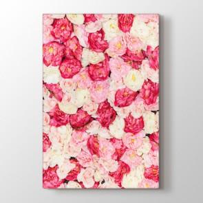 Romantik Çiçekler Tablosu | Çiçek Tabloları