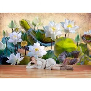 Cennet Çiçekleri - 3D Duvar Kağıdı Uygulama