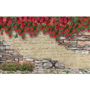 Çiçekli Duvar
