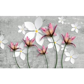 Betonda Çiçekler