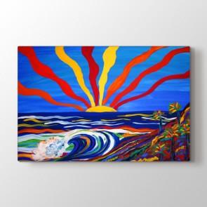 Güneşin Renkleri - Modern Resimli Tablo Modeli