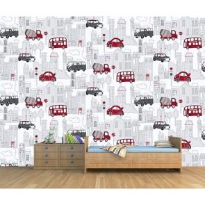 Vosvoslar Erkek Çocuk Odası Duvar Kağıdı Önizleme