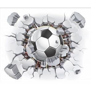Duvardan Fırlayan Futfol Topu