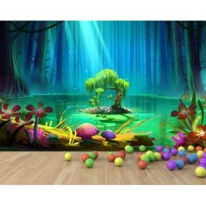 Sihirli Ağaç 3D Duvar Kağıdı