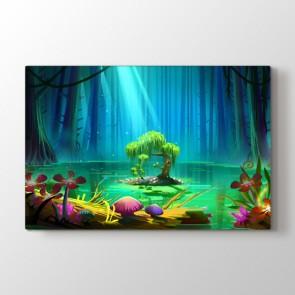 Sihirli Ağaç Tablosu | Genç Odası Tabloları
