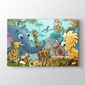 Çocuk Odası Hayvanları Tablosu | Çocuk Tabloları