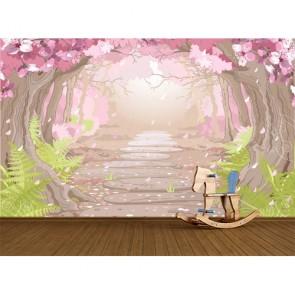 Büyülü Yol - Çocuk Odası Duvar Kağıdı Modeli