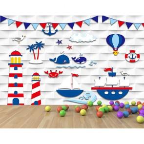 Hayal Dünyası 3 Boyutlu Çocuk Odası Duvar Kağıdı Modeli Uygulama